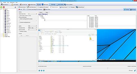 Employee monitoring desktop recording